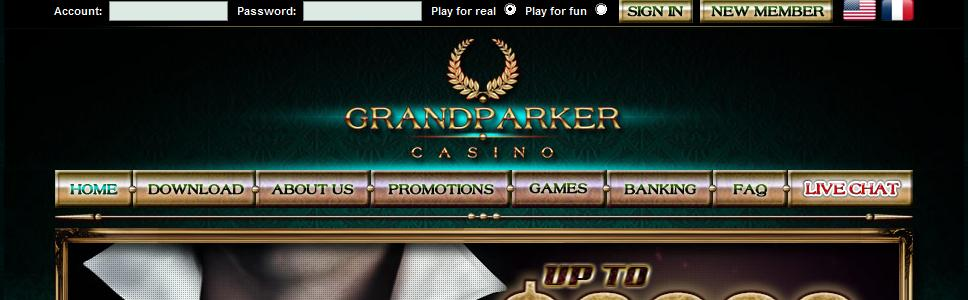 Grand Parker Casino - US Players Accepted!